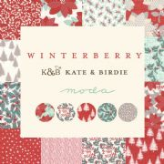 Winterberry Christmas fabric - Moda Fabrics